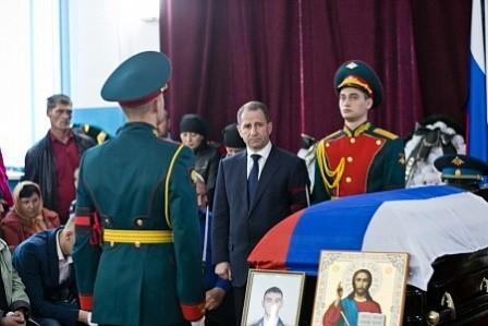 В Оренбуржье простились с погибшим в Сирии российским офицером
