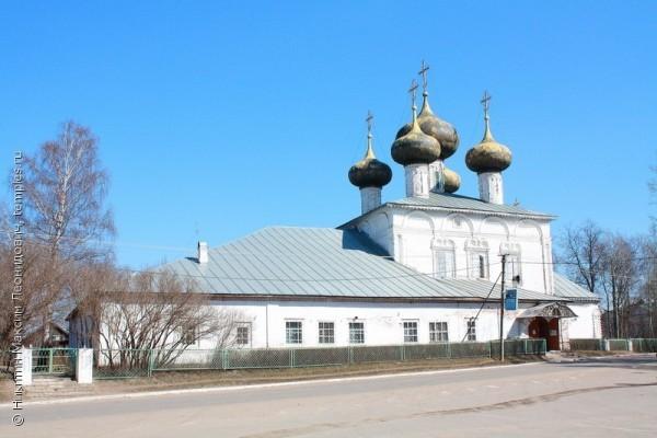Собор Рождества Богородицы XVII века в Устюжне передан Церкви
