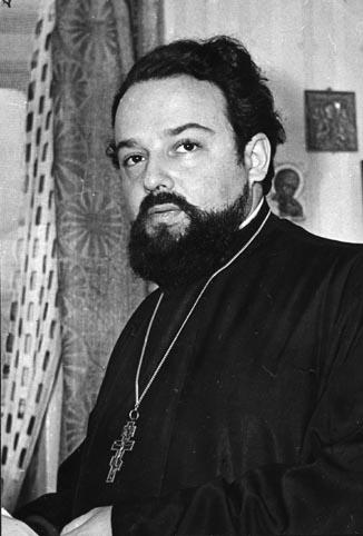 Священник Александр Мень. Март 1979 года. Фото В.Андреева