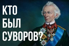 «Кто был Суворов?» (тест)