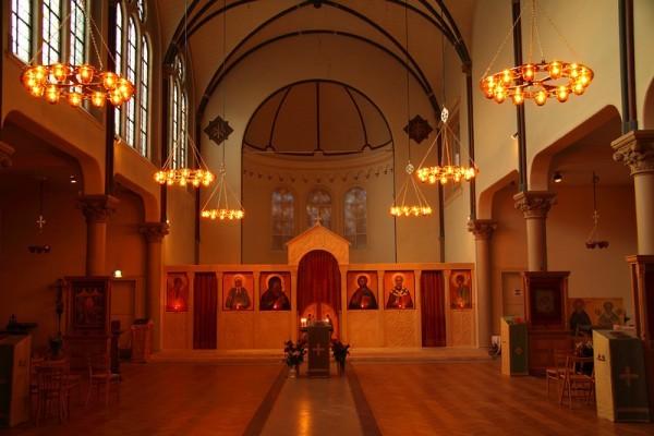 храм в честь святителя Николая в Амстердам