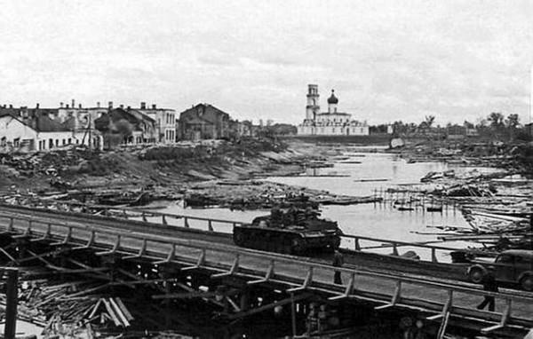 Старая Русса, осень 1941 г.
