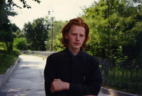 1990 г. Будущий епископ Иона, а пока что послушник Киево-Печерской Лавры