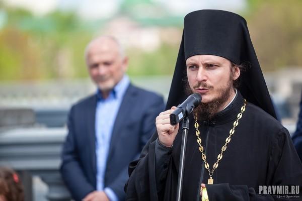 Председатель Миссионерской комиссии при Епархиальном совете г. Москвы иеромонах Димитрий (Першин)
