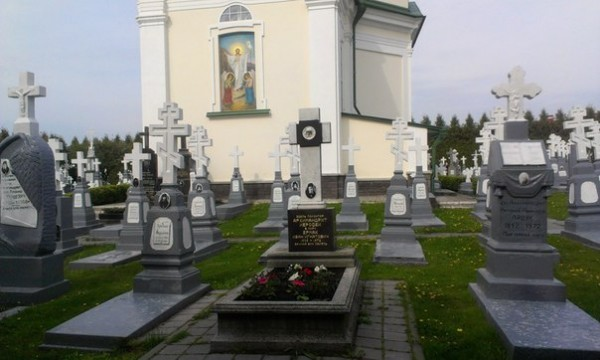 кладбище Свято-Успенской Почаевской лавры