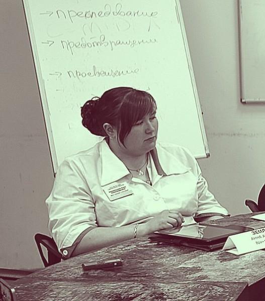 Анна Землянухина. Фото: vk.com