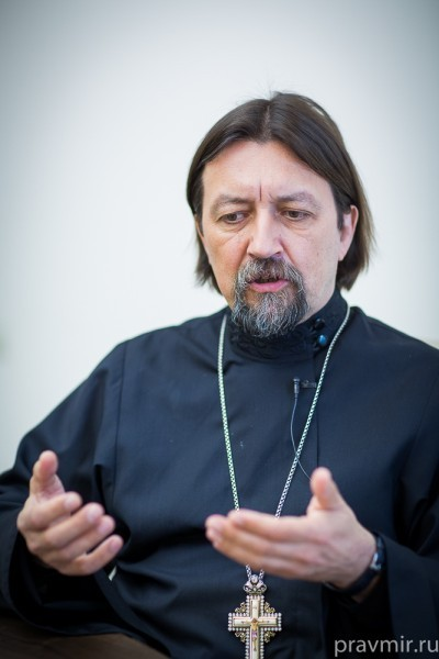 Протоиерей Максим Козлов. Фото: Анна Данилова