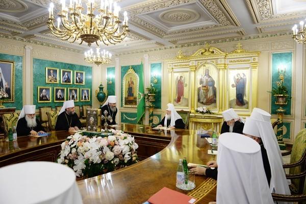 Журналы заседания Священного Синода от 13 июня 2016 года