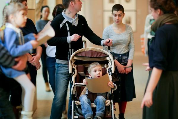 Исполнилась мечта детей, которые дружат и которым помогает фонд - они приехали из других городов в Москву на квест в пушкинский музей