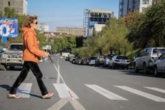 В Петербурге показали «виртуальную трость» для слепых
