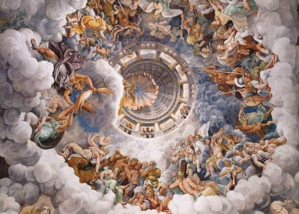 Джулио Романо «Совет богов»