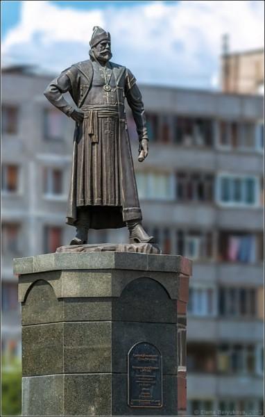 Памятник Григорию Пушке Фото: Елена Белюкова/panoramio.com