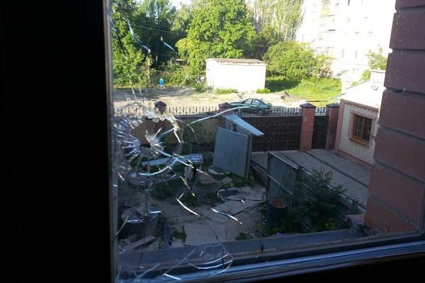 Горловское епархиальное управление вновь попало под артобстрел на Украине