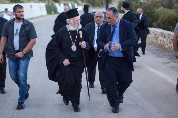 Патриарх Варфоломей посетил Православную академию Крита, где должен состояться Собор. hawkey.photoshelter.com