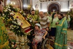 В храмах Москвы появятся тактильные иконы, пандусы и навигация для инвалидов