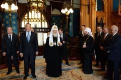 Сергей Лавров назвал Церковь нравственной опорой россиян в эпоху испытаний