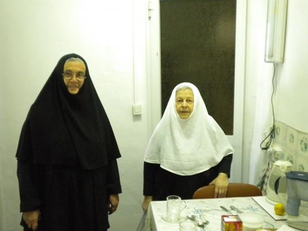 Преставилась монахиня Афанасия, одна из старейших насельниц русского монастыря на Елеоне