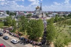 Больше 225 тысяч человек поклонились чудотворной Казанской иконе Божией Матери в Казахстане