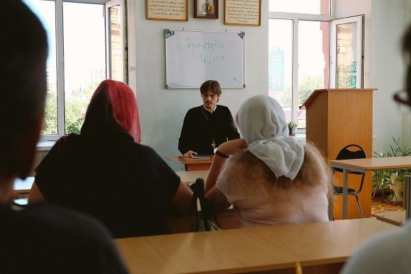Катехизаторские курсы, Иоанно–Предтеченский монастырь. Фото Павла Гирина astrsobor.ru