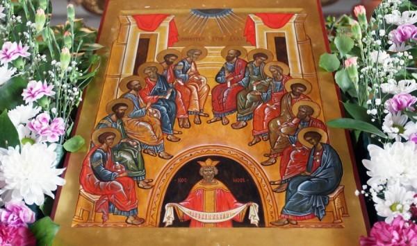 Сошествие Святого Духа на апостолов. Фото rp-c.ru