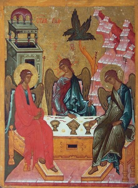 Святая Троица (Гостеприимство Авраамово). Фото ruicon.ru