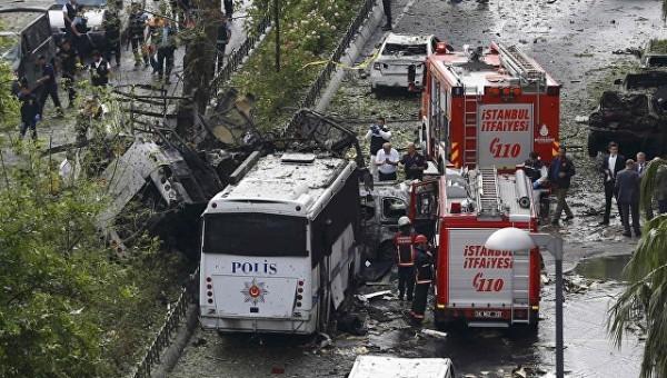 11 человек погибли в результате взрыва в центре Стамбула