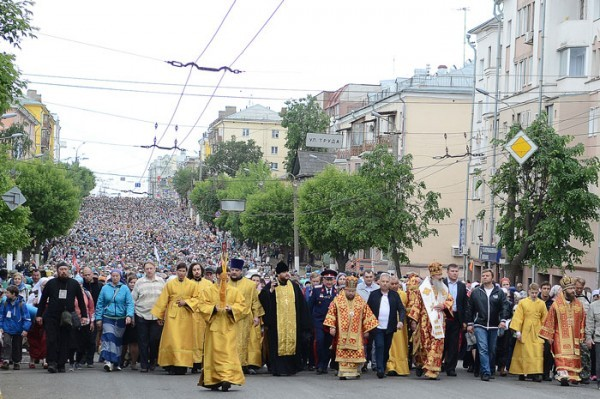 26 тысяч человек отправились из Кирова в Великорецкий крестный ход