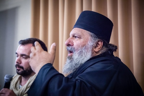 Встреча с афонским старцем Анастасием (Топозиусом)