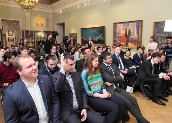 Участники дискуссионной площадки «Тверская – XXI». Февраль 2015