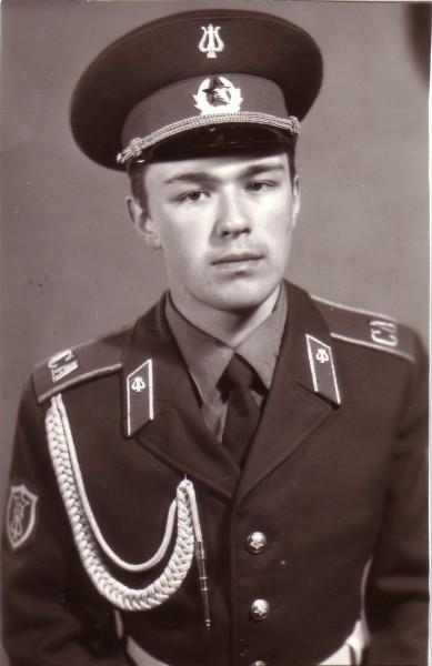 Митрополит Иларион во время службы в армии
