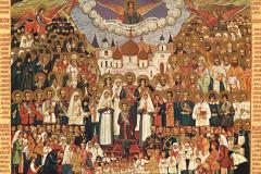 Церковь празднует Неделю всех святых, в земле Российской просиявших
