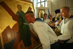 В Севастополь доставили десницу святого Андрея Первозванного