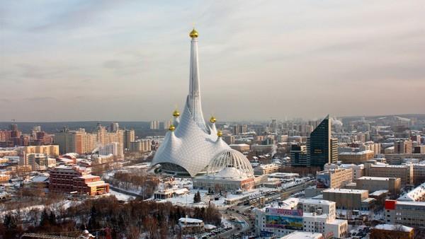 Архитекторы превратили недостроенную телебашню в Екатеринбурге в 200-метровый храм