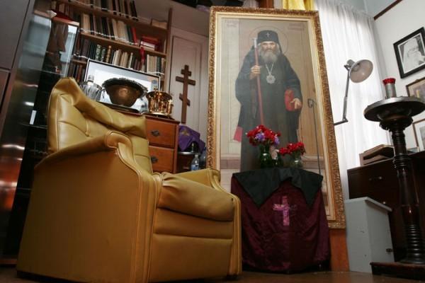 Исповедь в келье святителя Иоанна Шанхайского