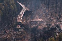 На месте крушения Ил-76 найдены тела шести членов экипажа