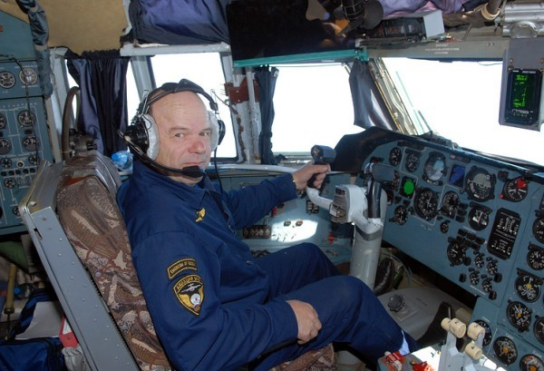 Командир экипажа Михаил Филин. Фото: Пресс-служба МЧС России