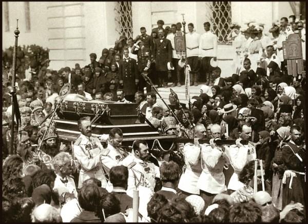 Царь Николай II, перенесение мощей Святого Преподобного Серафима Саровского