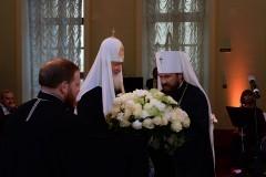 Состоялся торжественный вечер, посвященный 50-летию митрополита Волоколамского Илариона