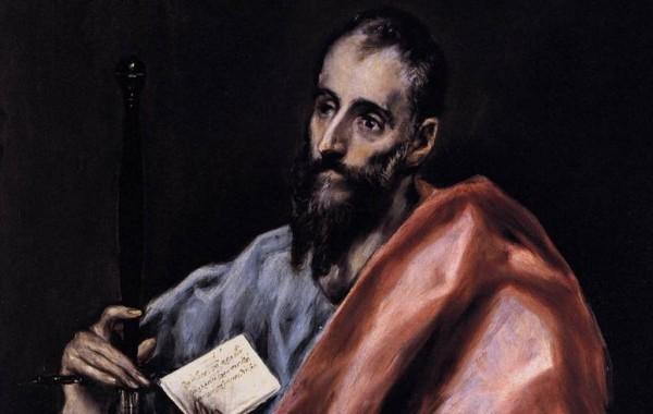 """""""Святой Апостол Павел"""" Доменико Эль Греко, 1610-14"""