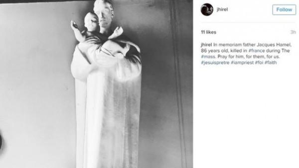 Памяти отца Жака Амеля/jhirel/Instagram