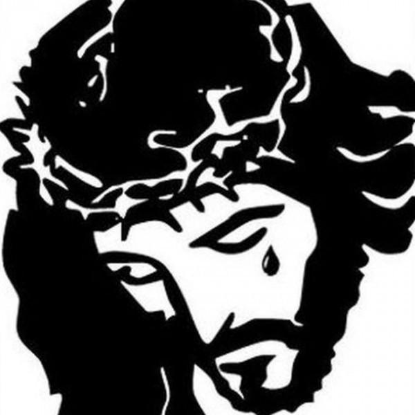 Образ Иисуса со словами «Терроризм убивает», опубликованный одним из пользователей