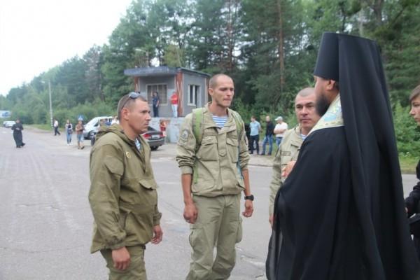 Бойцы 95-й аэромобильной бригады присоединились к Всеукраинскому ходу в Житомире