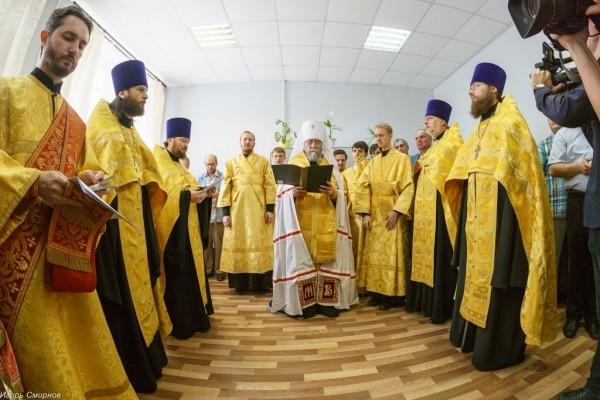 Церковь открыла социальную гостиницу для бездомных в Омске