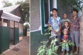 Неизвестные люди подарили дом многодетной матери, оставшейся без жилья после пожара