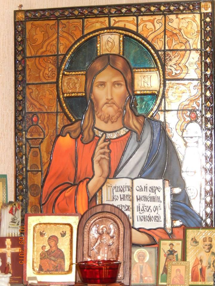 Икона Иисуса Христа в Князь ...: krest.kz/ryba-v-podezde-i-spasitel