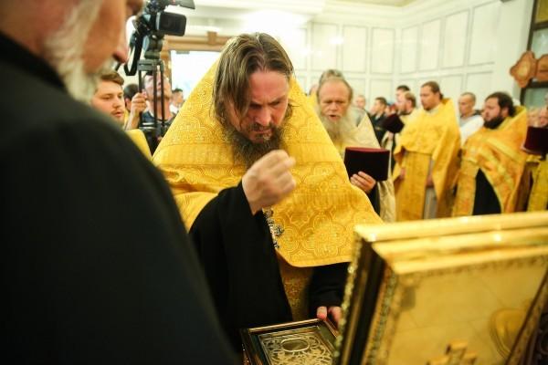 Принесение мощей Андрея Первозванного