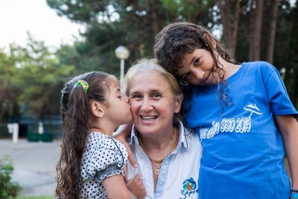 Кьяра с дочерью и сыном. Фото Ariel Palmer
