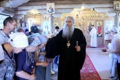 Митрополит Саратовский Лонгин совершил отпевание погибшего в Сирии летчика