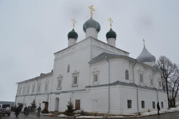 Убитого игумена Даниила похоронили на территории монастыря в Переславле-Залесском