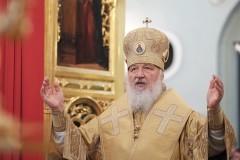 В День Крещения Руси Патриарх возглавил церковные торжества в Орловской митрополии